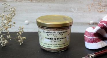 Les Délices du Scamandre - Terrine de Taureau au Poivre Vert - 180g