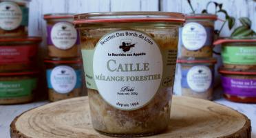 La Bourriche aux Appétits - Pâté de Caille et son Mélange Forestier
