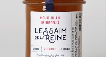 L'Essaim de la Reine - Miel de Tilleul de Bordeaux - 250g - miel crémeux récolté en France par l'apiculteur