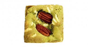 Pierre & Tim Cookies - Brookie The Matcha Chocolat Blanc noix De Pécan