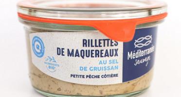 Méditerranée Sauvage - Rillettes de Maquereaux au Sel de Gruissan