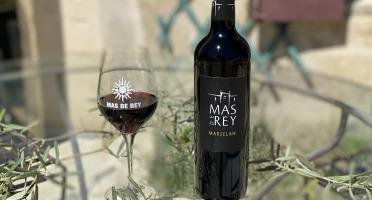 Domaine du Mas de Rey - IGP Terre de Camargue - Cuvée ''Marselan rouge 2018'', Lot de 3 Bouteilles