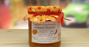 Les Perles Rouges - Confiture Extra De Potimarron Au Piment D'espelette