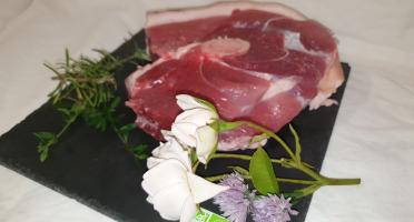 La Ferme du Montet - [SURGELE] Rouelle - Porc Noir Gascon - BIO  - 1100 g