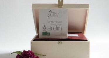 Mon jardin chocolaté - Boîte en bois de 20 chocolats Bio