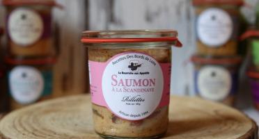La Bourriche aux Appétits - Rillettes de Saumon à la Scandinave