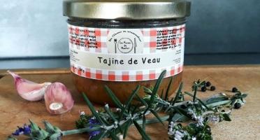 La ferme de Rustan - Tajine de Veau d'Aveyron et du Ségala Label Rouge et IGP 360 g