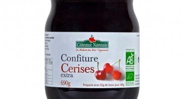 Les Côteaux Nantais - Confiture Cerises Extra 690g