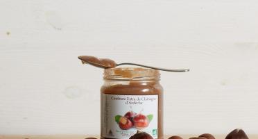 GAEC Roux - Coffret 10 confitures de châtaignes BIO et AOP + 1 sachet de biscuit à la farine de châtaigne offert