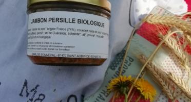 La Ferme de Bonneval - Jambon Persillé De Porc Bio, 180g
