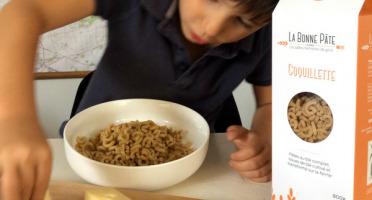 La bonne pâte de Beauce - Coquillette au blé complet