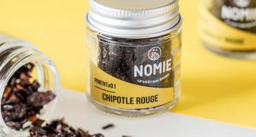 Nomie, le goût des épices - Piment Fumé Chipotle
