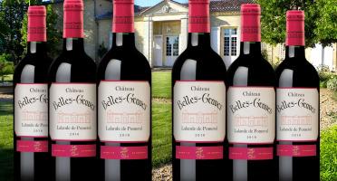 Château Belles-Graves - AOC Lalande de Pomerol 2016 - Château Belles-Graves 6x75cl