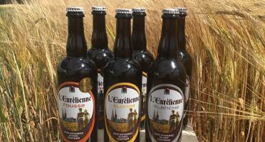 """L'Eurélienne - Brasserie de Chandres - Assortiment """"duo"""" - 6 Bières L'Eurélienne 75cl : 2 Blonde, 2 Blanche, 2 Rousse"""