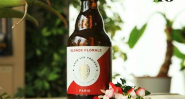 Sous les fraises - Epicerie des Toits de Paris - Bière blonde florale - 6x33cl