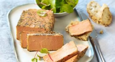 A la Truffe du Périgord - Foie Gras De Canard Entier Mi Cuit Au Sel De Guérande 250g