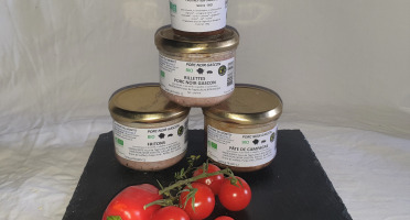 La Ferme du Montet - Plateau de Charcuterie cuite de Porc Gascon BIO - 4 produits