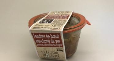 Conserverie Artisanale du Trégor - Fondant de Bœuf Marchand de Vin