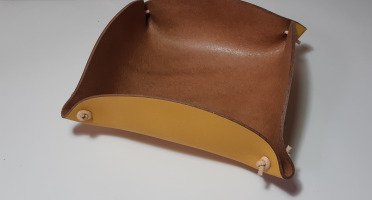Sillage Maroquinerie - Corbeille à Pain - Jaune