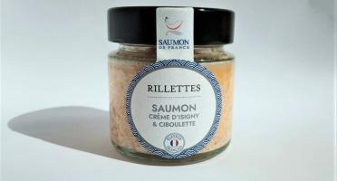 Saumon de France - Rillettes de saumon à la crème d'Isigny et ciboulette