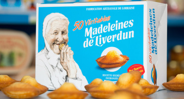 Les Véritables Madeleines de Liverdun - Boîte De 50  Véritables Madeleines De Liverdun