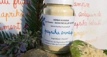 HERBA HUMANA - Paprika Enneigé Cultivé en France 3g