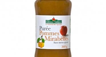 Les Côteaux Nantais - Purée Pommes Mirabelles 360g