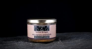 Les Viandes du Forez - Terrine de Lapin aux Oignons Caramélisés en Verrine