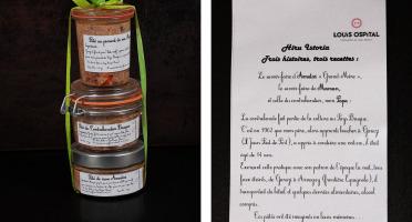 Charcuterie Louis OSPITAL - Coffret Cadeau Hiru Istoria - 3 pâtés en verrines