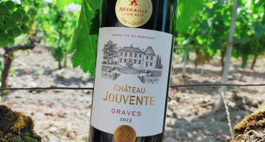 Château Jouvente - Château Jouvente AOC Graves Rouge 2012- 3 Bouteilles