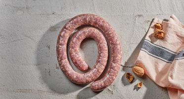 BEAUGRAIN, les viandes bien élevées - Saucisse Fraîche au Couteau de Porc de Lozère