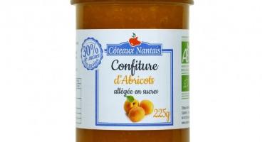 Les Côteaux Nantais - Confiture Allégée En Sucres Abricot 225g