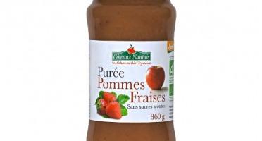 Les Côteaux Nantais - Purée Pommes Fraises 360g Bio