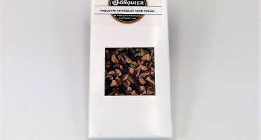 Maison Jonquier - Chocolat Noir / Noix de Pécan – 62% de Cacao – 100g