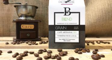 Cafés Factorerie - Café Blend 3 Arabicas Bio GRAIN - 250g