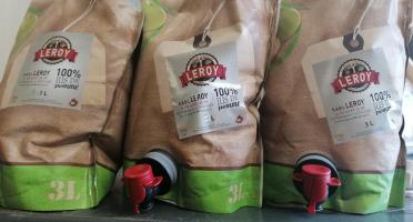 Maison Leroy - Colis De Jus De Pomme - 2 Push Up De 3 Litres
