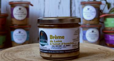 La Bourriche aux Appétits - Rillettes de Brême de Loire et fumet d'Ecrevisse