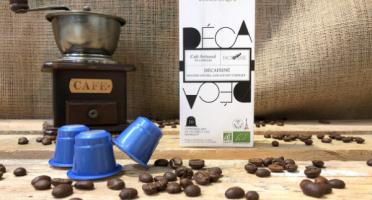 Cafés Factorerie - Café Décaféiné CAPSULES de Colombie Bio - 10 capsules