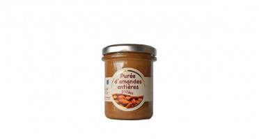 Les amandes et olives du Mont Bouquet - Purée D'amande Entière Grillée 180g
