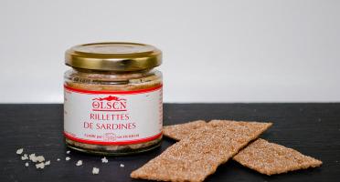 Olsen - Rillettes de sardine 44% bio 90g