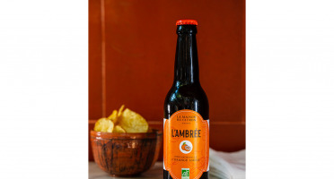 La Maison du Citron - Bière Ambrée Bio à L'orange Amère - 33 cl