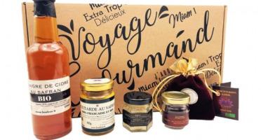 """Le safran - l'or rouge des Ardennes - Coffret """"Voyage Gourmand au Safran""""- Produits salés"""