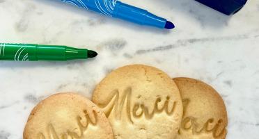 """Biscuiterie Maison Drans - Sablés """" Merci """""""
