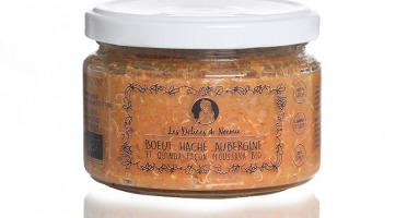Les délices de Noémie - Petits pots bébé 12 mois: Bœuf haché aubergine et quinoa façon moussaka bio X6