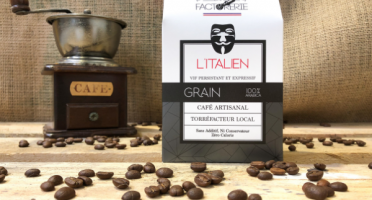 Cafés Factorerie - Café Blend L'Italien GRAIN - 250g