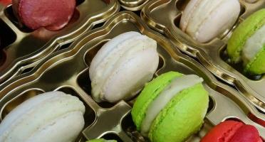 Les Glaces de la Promesse - Boîte De 8 Macarons Glacés