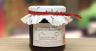 Les Perles Rouges - Confiture Délice Cerise Et Chocolat Noir