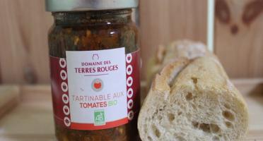Domaine des Terres Rouges - Tartinable aux Tomates BIO 120 g