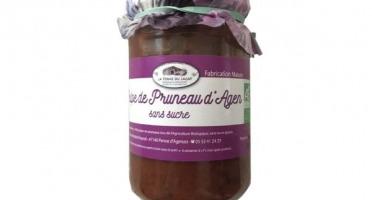 Ferme du Lacay - Pulpe De Pruneaux D'agen Sans Sucre Bio - 320 G
