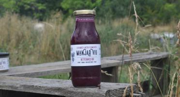 Manjar Viu : Légumes lacto fermentés - jus de betteraves - lacto fermenté